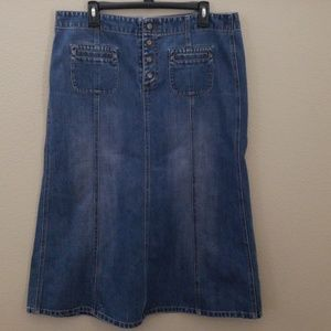 Gap skirt blue size 16